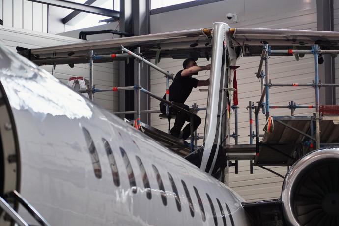 C-Check der Embraer Legacy 650 - nach dem Check ist vor dem Check