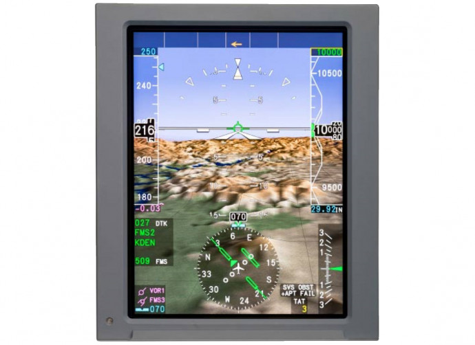 Synthetic Vision System an Bord der Legacy 600/650/650E